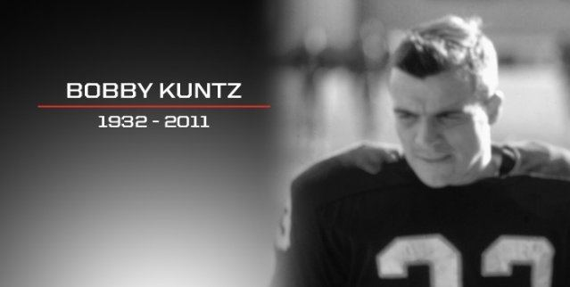 Bobby Kuntz CFL mourns the loss of Bobby Kuntz CFLca