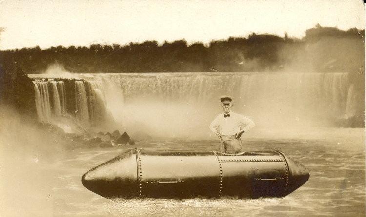Bobby Leach niagara falls canada Lancastrianet