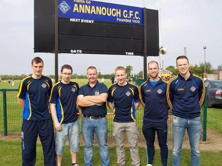 Bobby Miller (Gaelic footballer) Annanough GAA on Twitter Best wishes to our chairman Bobby Miller
