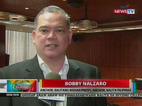 Bobby Nalzaro Batikang Kapuso broadcaster na si Bobby Nalzaro nagrenew