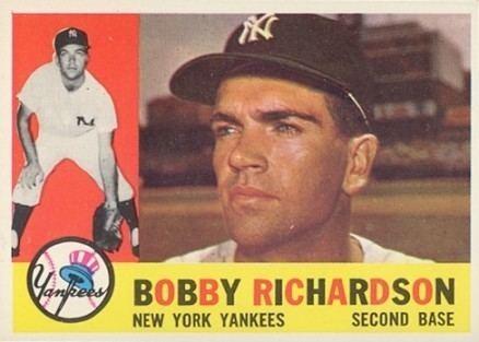 Bobby Richardson 1960 Topps Bobby Richardson 405 Baseball Card Value Price