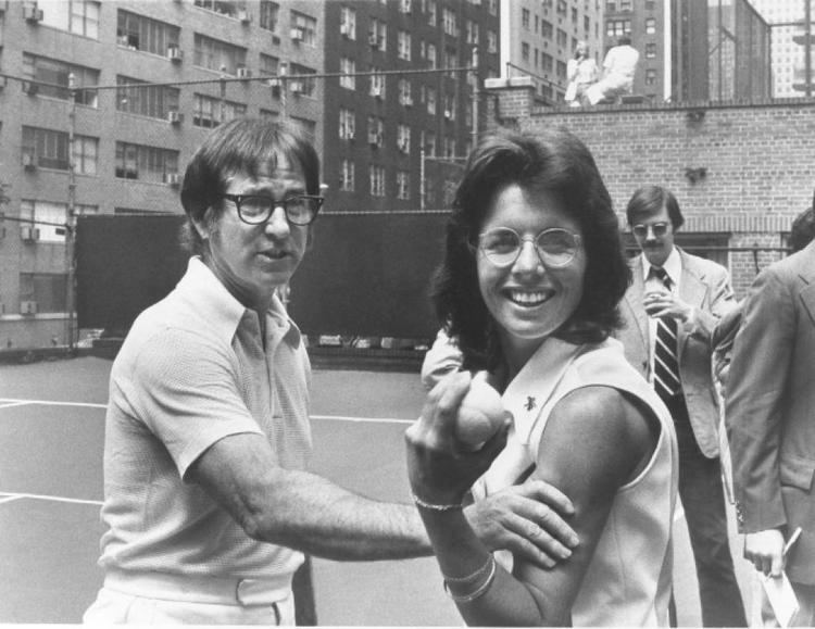 Bobby Riggs HBO Banks on a tennis battle of the sexes Carole Co