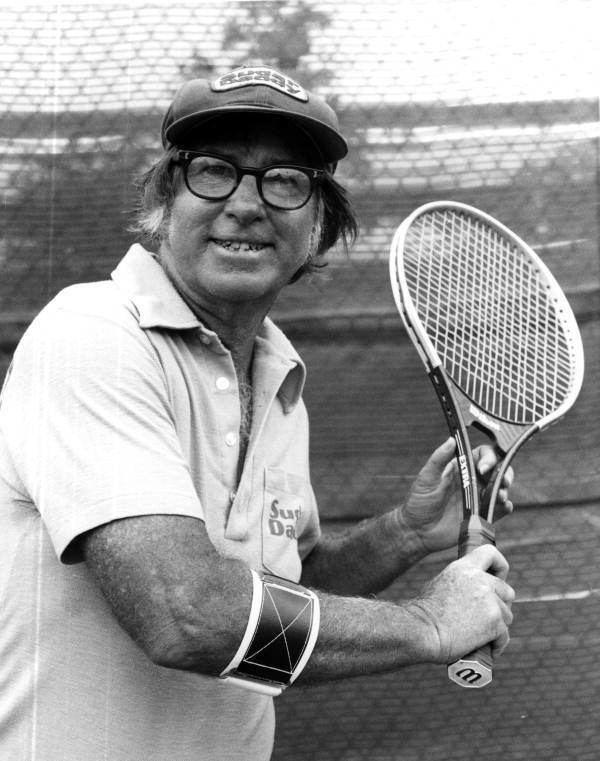 Bobby Riggs Florida Memory Portrait of tennis celebrity Bobby Riggs