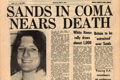 Bobby Sands State papers claim Bobby Sands offered to suspend hunger