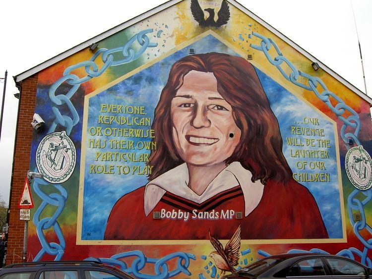 Bobby Sands Bobby Sands Wikipedia the free encyclopedia
