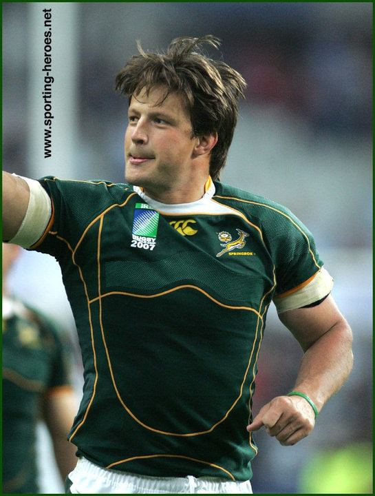 Bobby Skinstad Bobby Skinstad 2007 World Cup South Africa