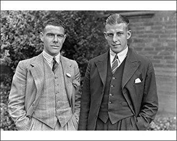 Bobby Whitelaw Photographic Print of Bobby Whitelaw and Billy Moore Southampton