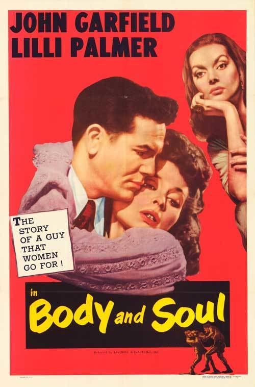 Body and Soul (1947 film) Body and Soul movie posters at movie poster warehouse moviepostercom