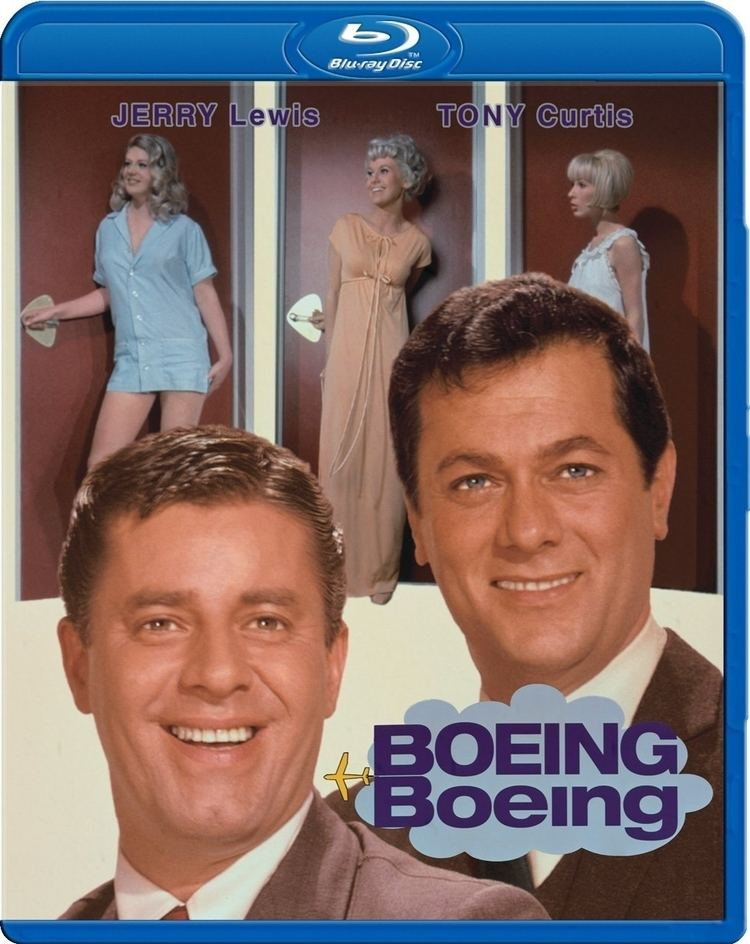Boeing Boeing (1965 film) movie poster