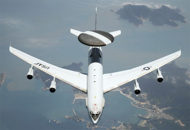 Boeing E-3 Sentry Boeing E3 Sentry AWACS Airborne Surveillance Command Control