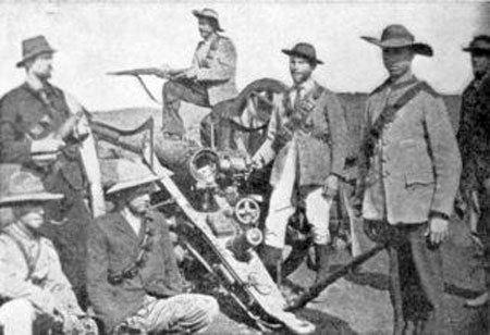Boer Commando Forming of the Commandos