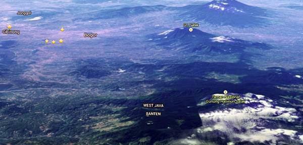 Bogor in the past, History of Bogor
