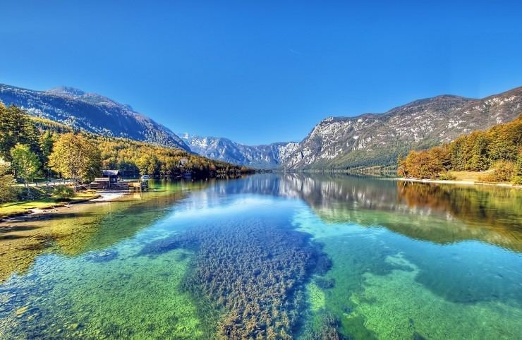 Bohinj Bohinj a Beautiful Valley and a Lake Embedded in the Mountains