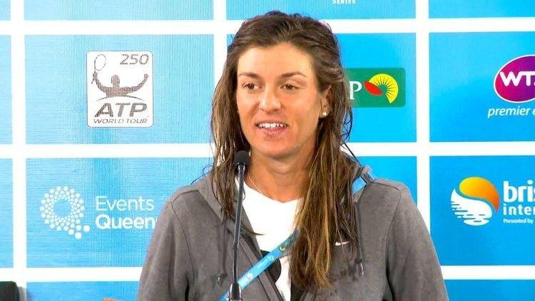 Bojana Bobusic Bojana Bobusic Press Conference Brisbane International
