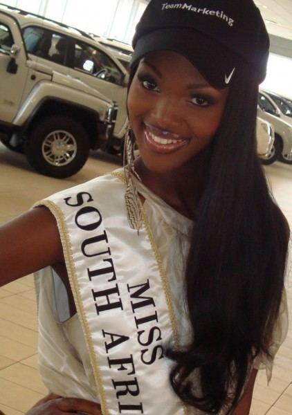 Bokang Montjane Miss Universe 2011 African Contestants Fashion Nigeria