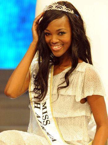 Bokang Montjane Miss South Africa 2010 Bokang Montjane News TVSA