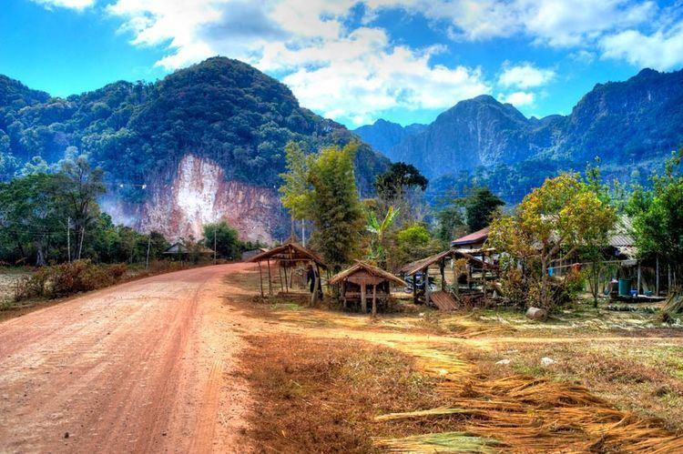 Bolikhamsai Province Beautiful Landscapes of Bolikhamsai Province