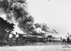 Bombing of Darwin The Japanese bombing of Darwin Broome and northern Australia