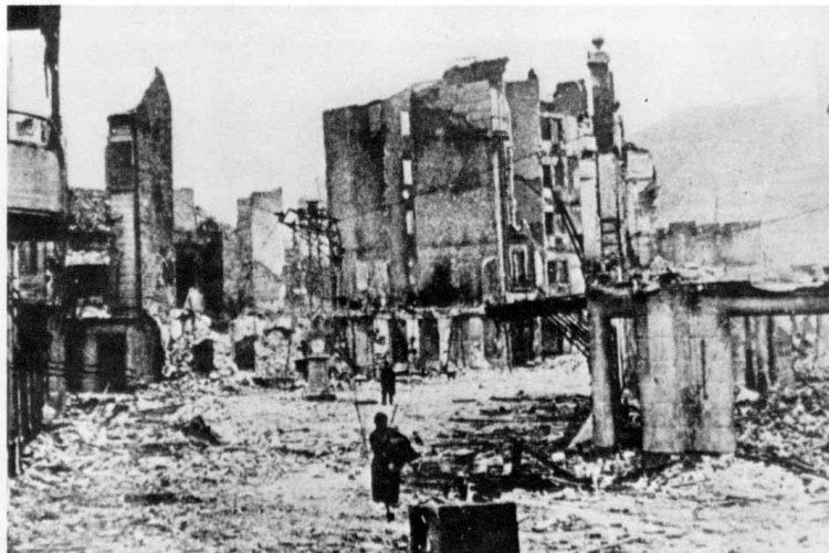 Bombing of Guernica NULL TOLERANZ FR NAZIS Bombing of Guernica 26 April 1937