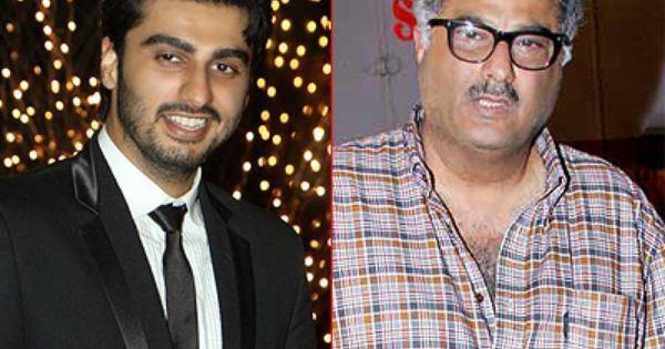 Boney Kapoor Arjun Kapoor to do a film with dad Boney Bollywood Pinterest