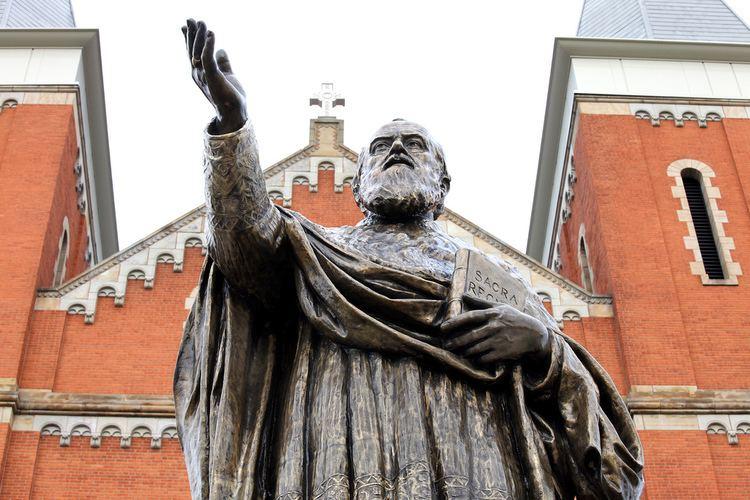 Boniface Wimmer Boniface Wimmer statue Saint Vincent College Flickr