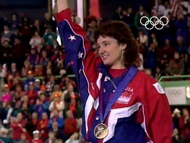 Bonnie Blair Bonnie Blair Wins Gold By Record Distance Lillehammer 1994 Winter