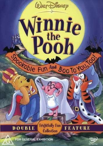 Boo to You Too! Winnie the Pooh Winnie the PoohSpookable FunBoo to You Too 1996