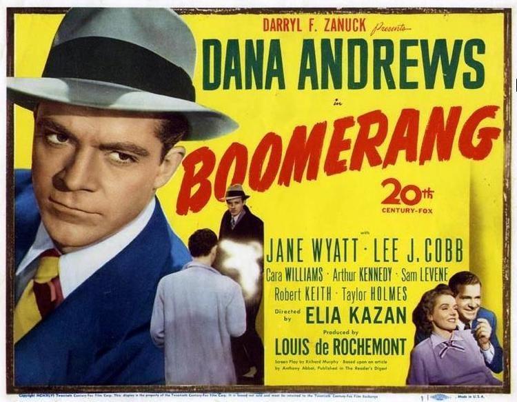 Boomerang (1947 film) Boomerang 1947 Film Noir of the Week