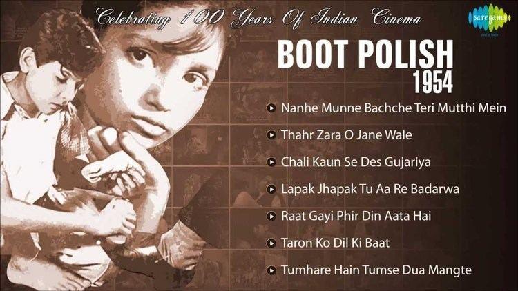 Boot Polish 1954 Naaz Ratan Kumar David Bollywood Old