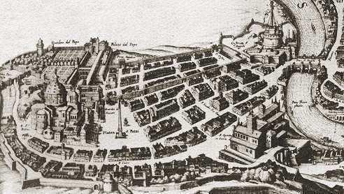 Borgo (rione of Rome) LE MURA DEI PAPI parte I pagina 1