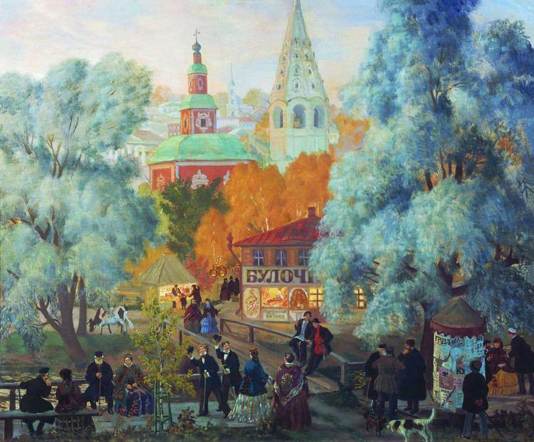 Boris Kustodiev Province Boris Kustodiev WikiArtorg