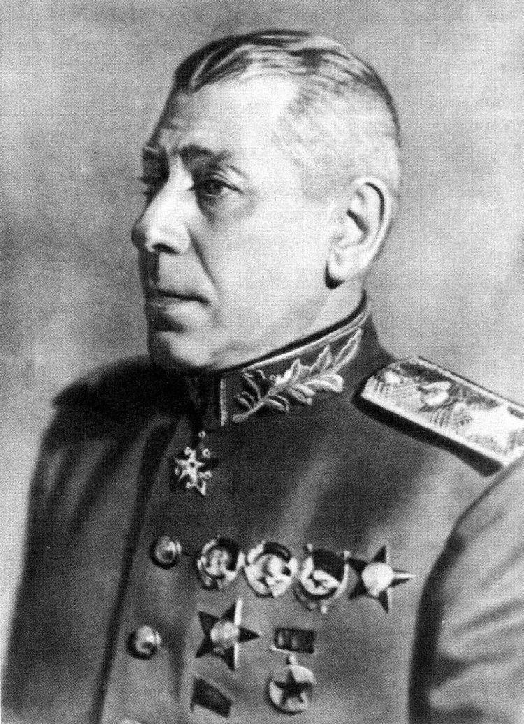 Boris Shaposhnikov Now Playing day or 130 years from the birth of Boris