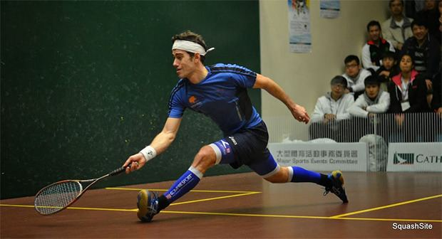 Borja Golán Squash Mad Golan gunning for end of year title Squash Mad