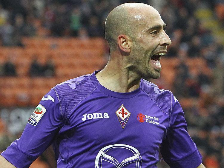 Borja Valero Sempreinter Fiorentina Borja Valero suspended against Inter
