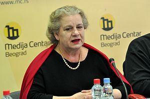 Borka Pavićević Borka Pavievi Wikipedia