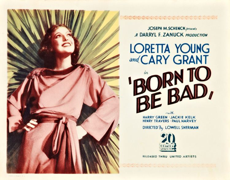 Born to Be Bad (1934 film) Born to Be Bad 1934