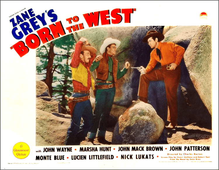 Born to the West John Wayne Filmography cont Born to the West Hell Town Part 1