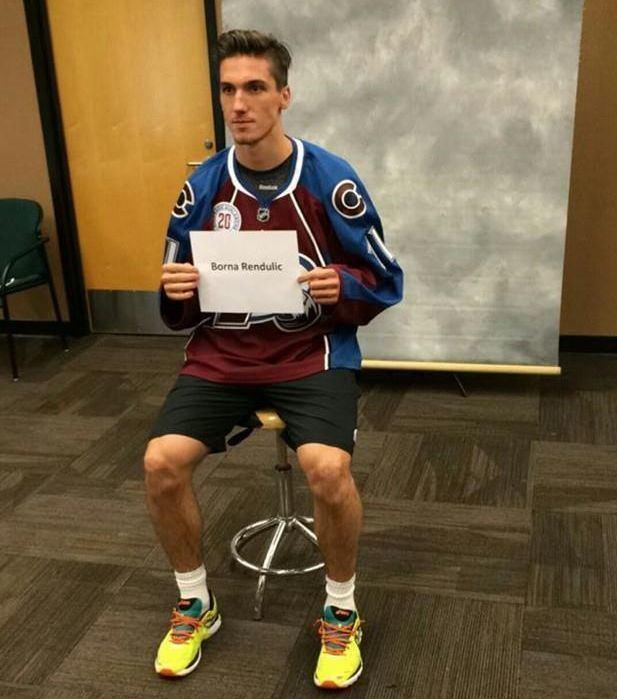 Borna Rendulić Borna Renduli zadrao svoje mjesto u Colorado Avalancheu Crosport