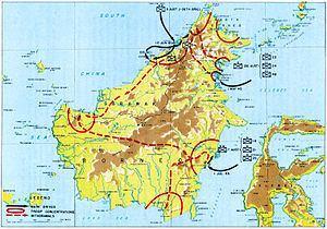 Borneo campaign (1945) httpsuploadwikimediaorgwikipediacommonsthu