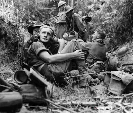 Borneo campaign (1945) Part I WWII Photos of Australian Troops in Labuan after The Borneo