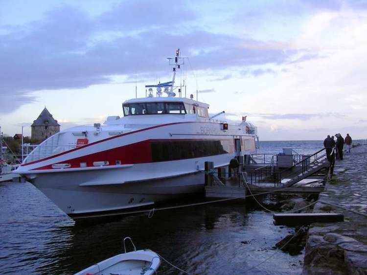 Bornholm Express BORNHOLM EXPRESS IMO 9356476 Callsign OYGF ShipSpottingcom