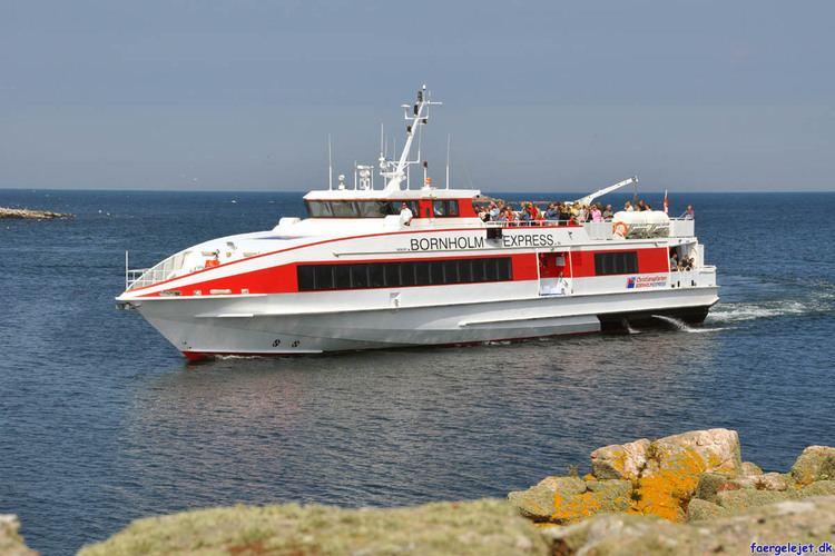 Bornholm Express Bornholm Express Bornholm Express ankommer til Er stort billede