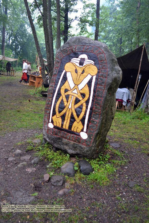 Borre, Norway Viking Art Stone Borre Norway The wanderlust world of