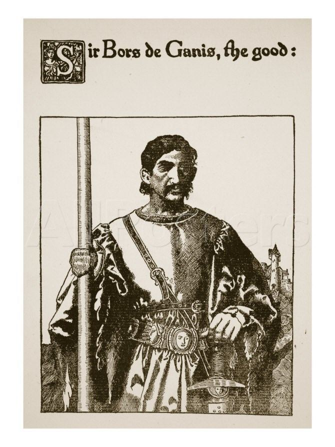 Bors Sir Bors De Ganis the Good Illustration from 39The Story of Sir