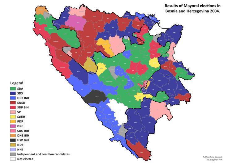Bosnian municipal elections, 2004
