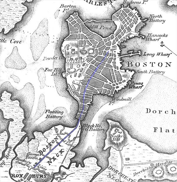 Boston in the past, History of Boston