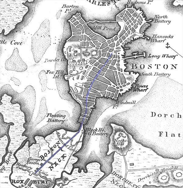 Boston in the past, History of Boston