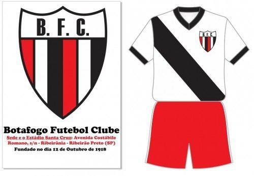 Botafogo Futebol Clube (SP) Foto Rara de 1947 Botafogo Futebol Clube Ribeiro Preto SP