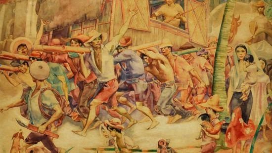 Botong Francisco Botong Francisco A Nation Imagined Ayala Museum