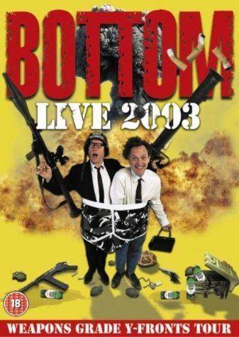 Bottom Live Bottom Live DVD Amazoncouk Rik Mayall Adrian Edmondson DVD